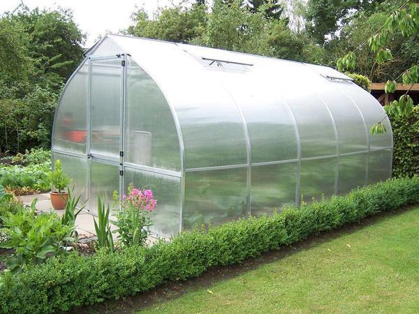 پلاستیک شفاف گلخانه