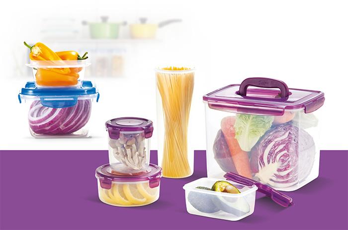 ظروف پلاستیکی آشپزخانه ترک