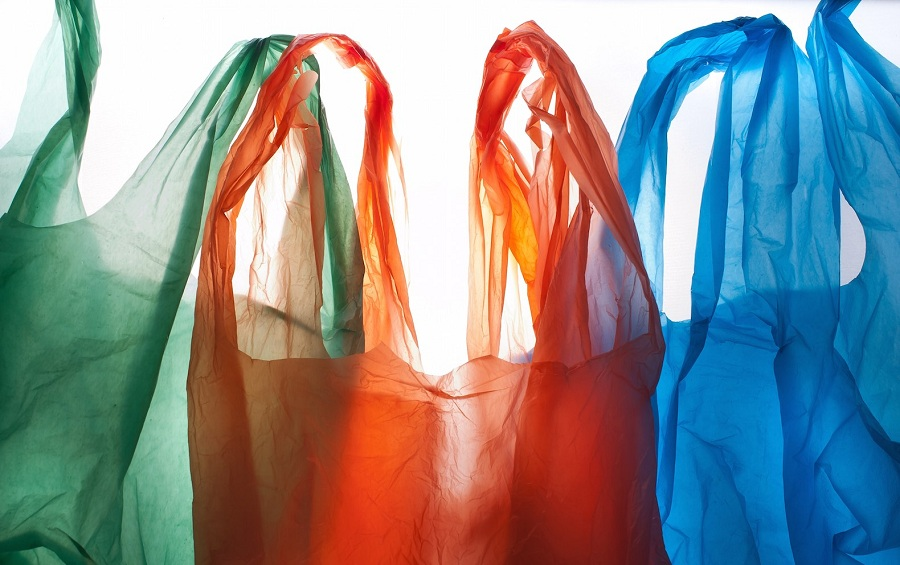 پلاستیک دسته دار رنگی